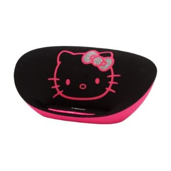 hello kitty oval bluetooth speaker black home audio theater. Black Bedroom Furniture Sets. Home Design Ideas