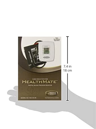 HM-30 HEALTHMATE PROFESSIONAL DIGITAL BLOOD PRESSURE MONITOR EXTRA LARGE CUFF: Amazon.es: Salud y cuidado personal