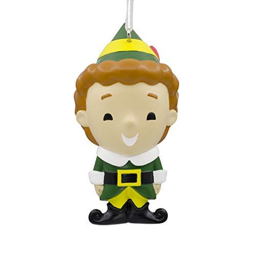 Hallmark Christmas Ornaments, ELF Buddy the Elf Ornament (Ornament Buddy The Elf)