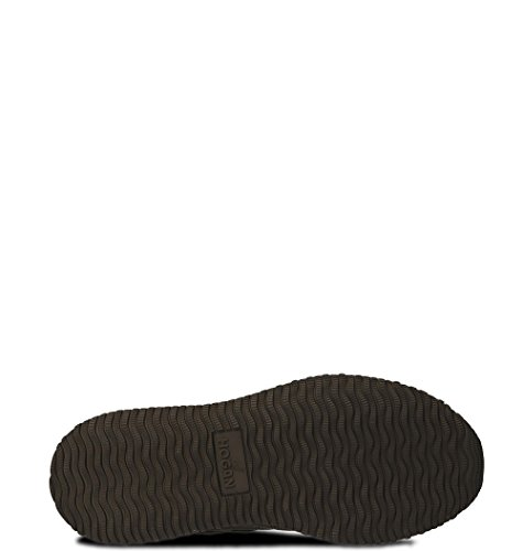 Hogan Herren Hxm2460y800h556z18 Grau Stoff Sneakers