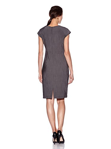 Nife Elégante robe de designer, gris