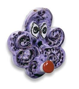 Hand Painted De Simone Octopus Hook - Handmade in Sicily