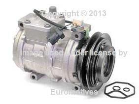 BMW E30 318 A/C compresor AC Embrague W/OEM denso nueva bomba de refrigerante: Amazon.es: Coche y moto