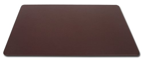 Dacasso Chocolate Brown Leather Desk Mat, 30-Inch by 19-Inch by Dacasso