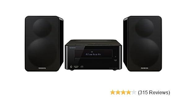 a514ad824a1 Amazon.com  Onkyo CS-265(B) CD Hi-Fi Mini System with Bluetooth  Home Audio    Theater