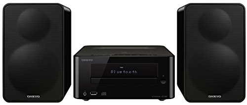 Onkyo CS-265(B) CD Hi-Fi Mini System with Bluetooth (Best Audio Player For Ipad)
