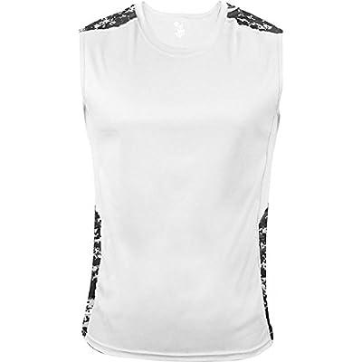 Badger Men's Digital Fitted Sleeveless Shirt