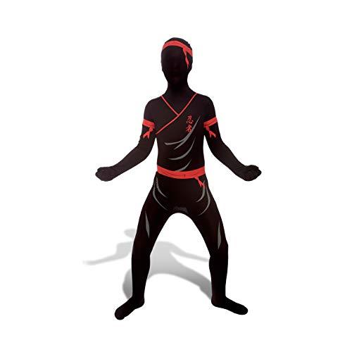 Ninja Kids Morphsuit Costume - size Medium 3'6-3'11 (105cm-119cm) -