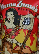 Spicy Potato (Habanero Chips HOT! Mama Zuma's Revenge Route 11 Habanero All Natural Fresh Kettle Cooked Potato Chips-6 PACK- 2oz. per bag (Gluten Free & No Trans Fats & No Cholesterol) Over 2 POUNDS of CHIPS ! )