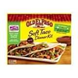 Old El Paso Soft Taco Dinner Kit with 10 Soft Tortillas 12.5 oz (Pack of 12)