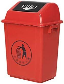 滑らかな表面 屋外のリサイクルビン、大容量長方形肥厚は、ビン・ショッピングモール公衆の場屋外コンポストビンを拒否 リサイクル可能なデザイン (Color : Red, Size : 45*32.5*74.5CM)