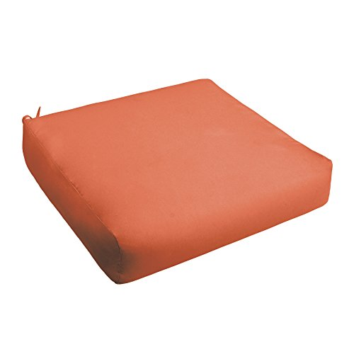 Mandarin Foam (Mozaic AMCS109303 Swavelle Indoor/Outdoor Chair Deep Seating Cushion-Round Front, 25
