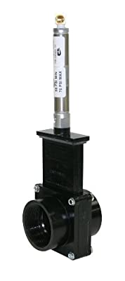 "Valterra 9207S ABS Gate Valve, Black, 2"" FPT, Metal Air Cylinder from Valterra Products"