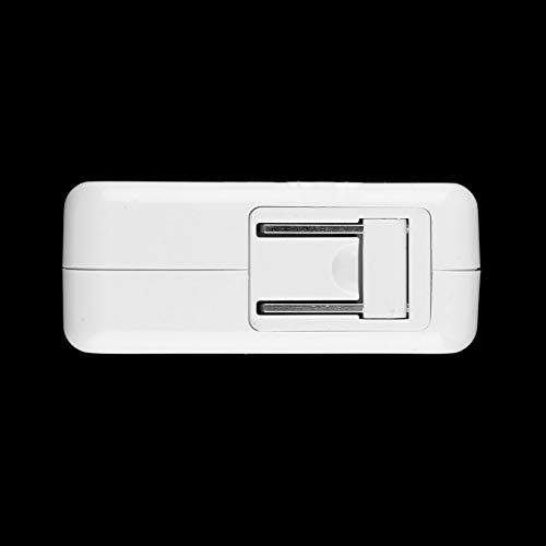 ningbao771 White Plastic 2.1A 4 Ports USB Portable Home Travel Wall Charger US Plug AC Power Adapter for iPhone for iPod