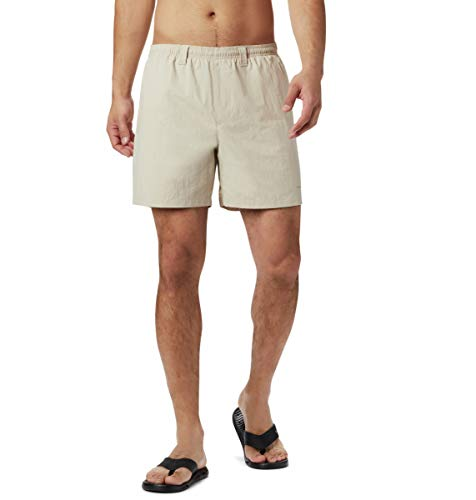 Columbia Men's PFG Backcast III Water Short , Fossil, Medium x 6