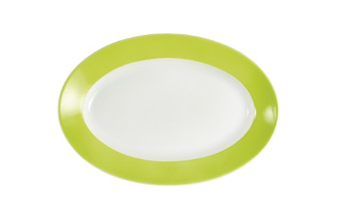 (KAHLA Pronto Platter Oval 12-1/2 Inches, Lime Color, 1 Piece)