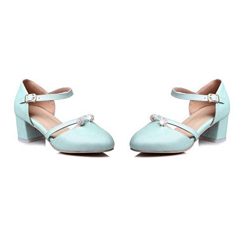 36 Compensées BalaMasa Femme Sandales Bleu Bleu 5 ASL05572 PwBE88qY