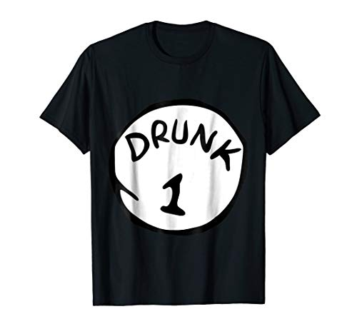 Drunk 1 Halloween Costume T-Shirt for $<!--$15.99-->