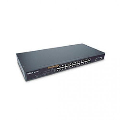 D-Link DES-1026G 24-port 10/100Base-TX Rackmount Unmanaged Switch w/ 2-gigabit Ports