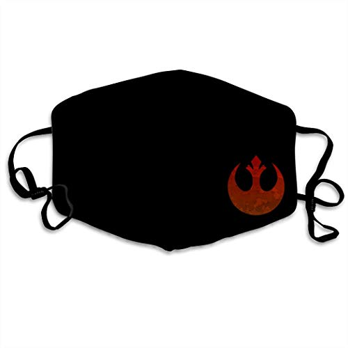 TRWDD CJD Rebel Alliance Unisex Mask Indoor Outdoor Cycling Camping Travel Windproof Sun Anti Dust Mask Mouth with Adjustable Ear Loops
