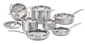 Quality stainless steel cookware