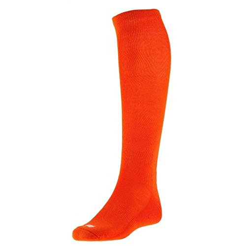 Sof Sole Men's and Youth RBI Baseball Team Performance Socks, 2-Pack, Orange (Performance Acrylic)