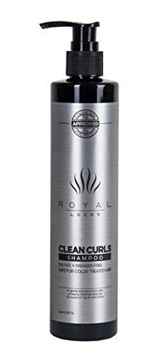 Curly Hair Shampoo by Royal Locks . Clean Curls is Sulfat...