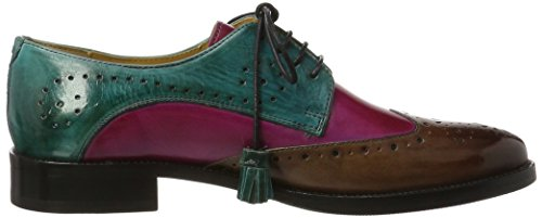 Hrs pink Derby pink de Crust Mujer amp;Hamilton Crust Betty Turquoise Dk Turquoise Tassel Mink Turquoise Turquoise Dk para Melvin Zapatos Cordones 3 Hrs Mink Multicolor Tassel qF41wY