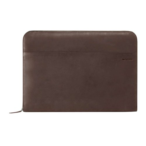 Incase Leather Sleeve for 15'' MacBook Pro - Dark Gray/Port - ES87052 by Incase
