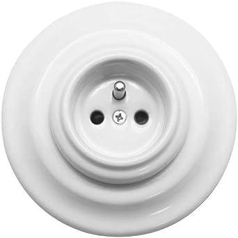 GARBY FONTINI 30208273 Prise avec terre Porcelaine Noire 16A-250V Réf