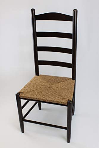 - Dixie Seating Penrose Wood Ladderback Counter Stool No. 1224S Woodleaf Hickory