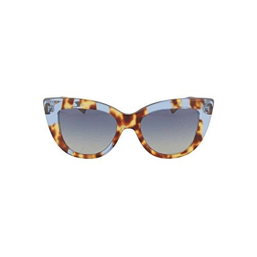 49bce99753 Valentino 0VA4025 50564L, Gafas de Sol para Mujer, Azul (Yellow Havana  Inserts Bluette