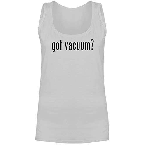 The Town Butler got Vacuum? - A Soft & Comfortable Women's Tank Top, White, XX-Large