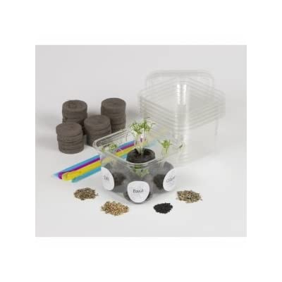 Nature-Watch Herb Garden Greenhouse Activity Kit (25 Projects): Toys & Games [5Bkhe0201230]