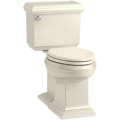 KOHLER Memoirs Classic Comfort Height Elongated 1.28 GPF Toilet with Aqua Piston Flush Technology