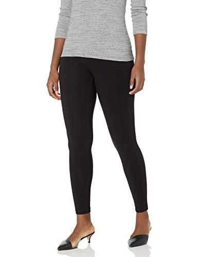 Hue Women's Ultra Legging with Wide Waistband - Medium - Black