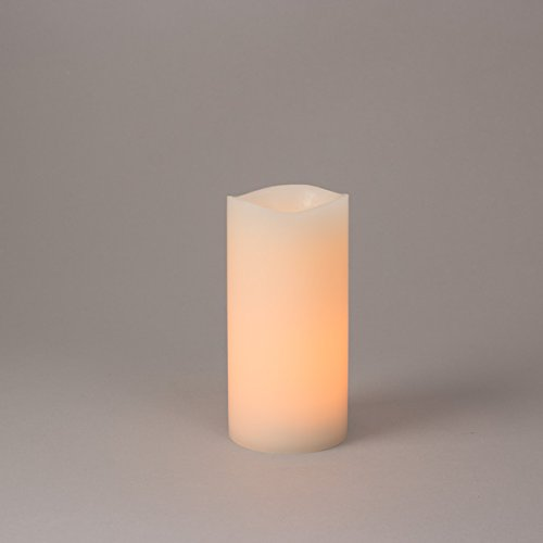 Batteries Flood 2aa (Everlasting Glow Home 3''D x 6''H Soft LED Wavy Edge Glow Wick(TM))