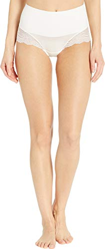 SPANX Women's Undie-Tectable Lace Hi-Hipster Panty Powder X-Large