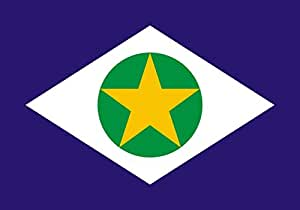 magFlags XS Flag Mato Grosso   landscape flag   0.375m²   4sqft   50x75cm   1.5x2.5ft - 100% Made in Germany - long lasting outdoor flag