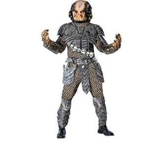 Color Guard Costumes For Sale (Predator Adult Standard Costume, Medium)