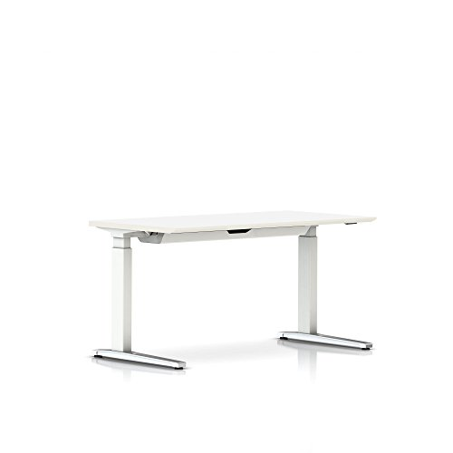 Renew Sit-to-Stand Table-Thin Edge Laminate Top/Thermoplasti