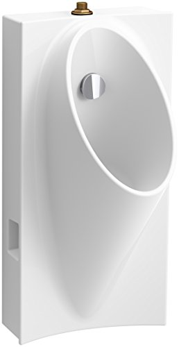 3/4 Back Spud Urinals (KOHLER 5244-ET-0 Steward Hybrid High-Efficiency Urinal with 3/4