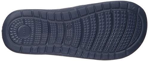 Blu blue 4hi Reviva navy A Adulto Jean – Aperta U Sandali Punta Unisex Slide Crocs vw7Tqfq