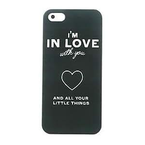 ZMY Amo el caso duro del patrón del corazón para el iphone 4/4s