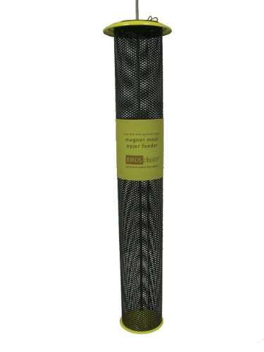 - Birds Choice 2-1/4QT. Magnet Mesh Tube Finch Feeder