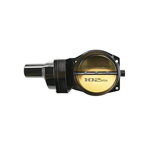 TSP 81014BK Velocity 102mm Fly By Wire Billet Aluminum LS Throttle Body, 4-Bolt, Black Billet Aluminum Throttle Body