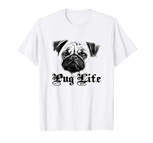 Pug Face Dog Lover Life Shirt