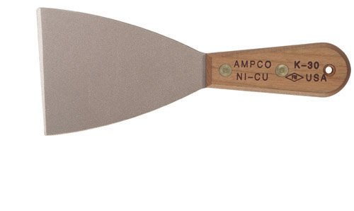 Ampco Safety Tools K-30 Knife, Putty, Non-Sparking, Non-Magnetic, Corrosion Resistant, 3-1/2'' Stiff Blade