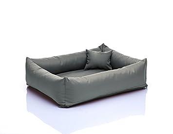 Saba cama para perros Perros sofá L 80 x 100 Nº 23 gris: Amazon.es: Productos para mascotas