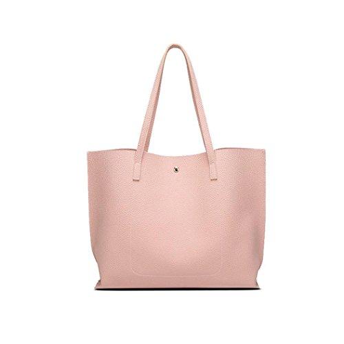 Handbag Solid PU YUAN Color Pink Plaid Package Tassel Shoulder Leather bag Women Messenger Pendant Cnwq045